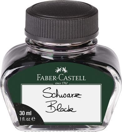 Faber Castell - Bottled Ink 30ml - Black