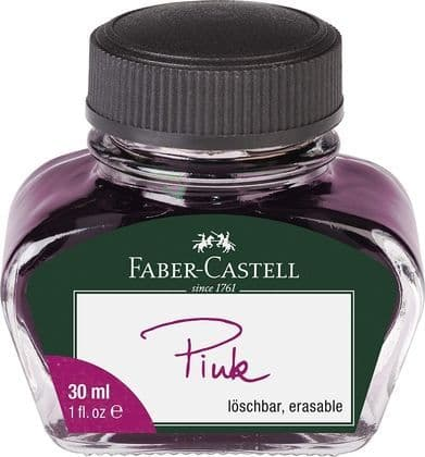 Faber Castell - Bottled Ink 30ml - Pink