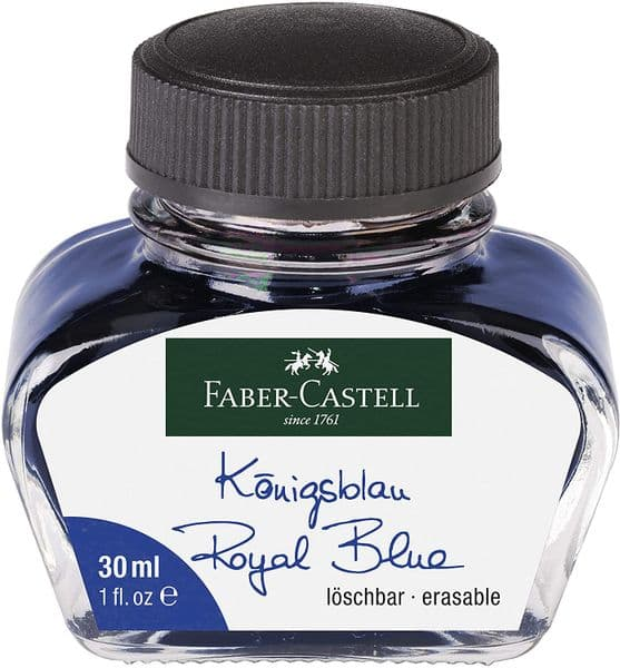 Faber Castell - Bottled Ink 30ml - Royal Blue