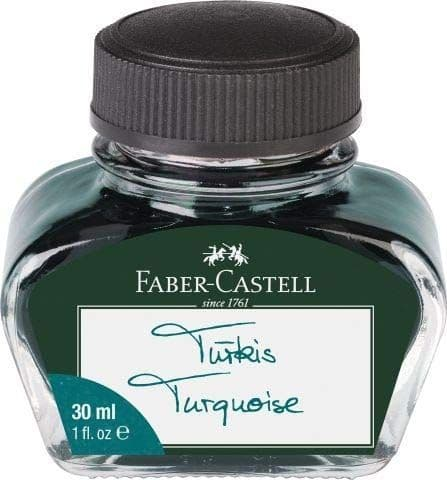 Faber Castell - Bottled Ink 30ml - Turquoise