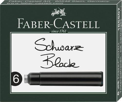 Faber Castell - Ink Cartridges - Black