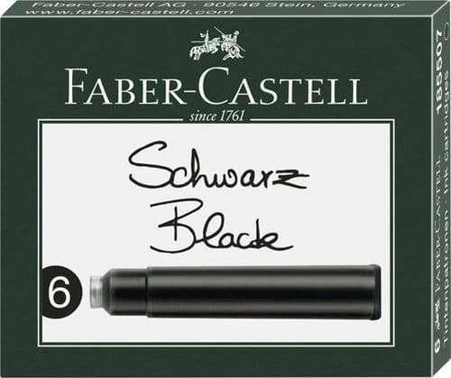 Faber Castell - Ink Cartridges - Black