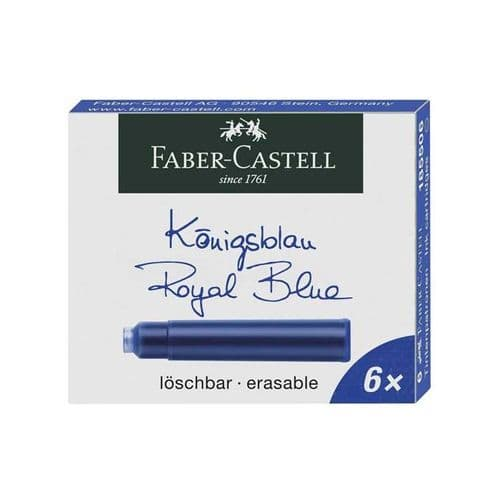 Faber Castell - Ink Cartridges - Royal Blue