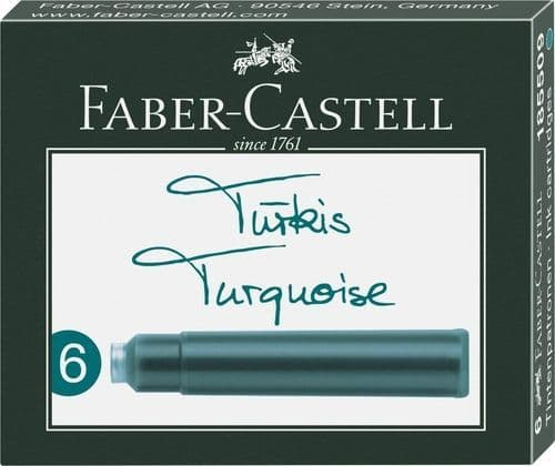 Faber Castell - Ink Cartridges - Turquoise
