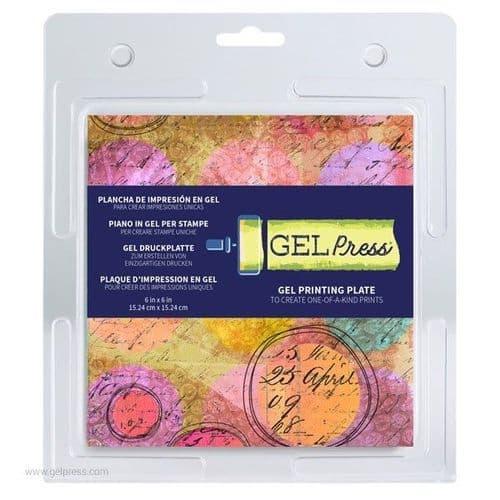 "Gel Press - Printing Plate - 6x6"""