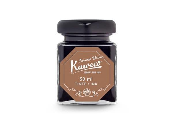 Kaweco Bottled Ink - Carmel Brown