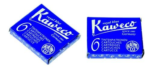 Kaweco - Ink Cartridges - International Standard Size - Royal Blue