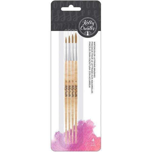 Kelly Creates - Watercolour Round Brush Set