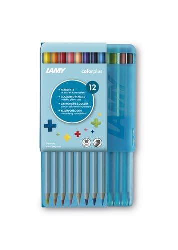 Lamy - ColourPlus Pencils - 12 pack in Plastic Case