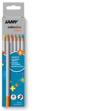 Lamy - ColourPlus Pencils - Neon 6 pack