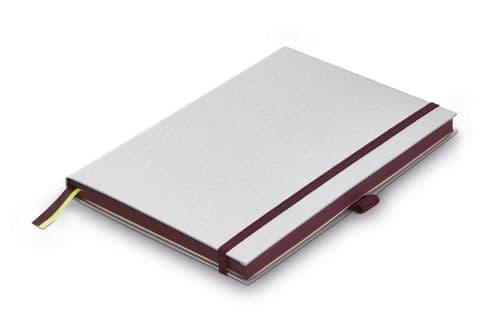 Lamy - Hardcover Notebook -  A5 Black Purple Edging