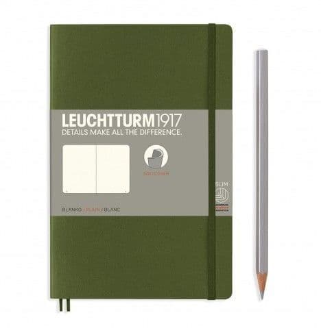 Leuchtturm 1917 - Notebook Composition (B6) - Soft Cover - Army
