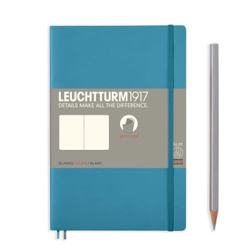 Leuchtturm 1917 - Notebook Composition (B6) - Soft Cover - Nordic Blue