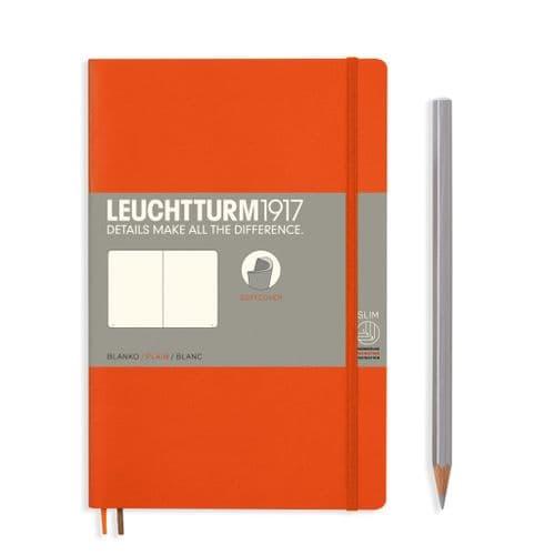 Leuchtturm 1917 - Notebook Composition (B6) - Soft Cover - Orange