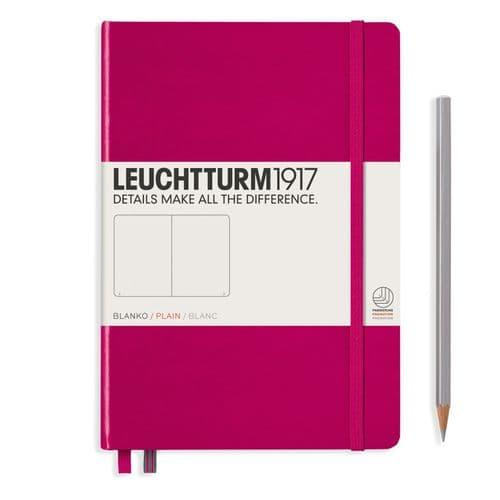 Leuchtturm 1917 - Notebook Medium (A5) - Hardcover - Berry