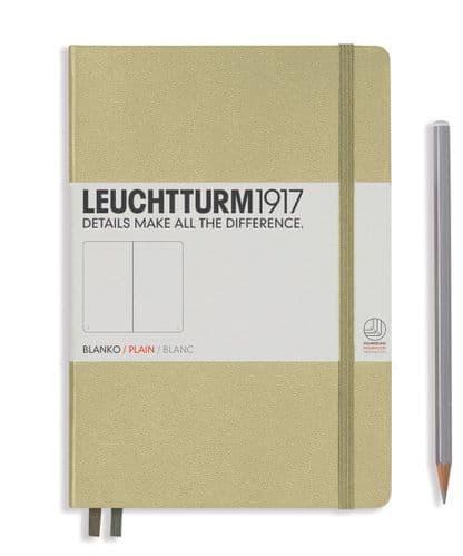 Leuchtturm 1917 - Notebook Medium (A5) - Hardcover - Sand
