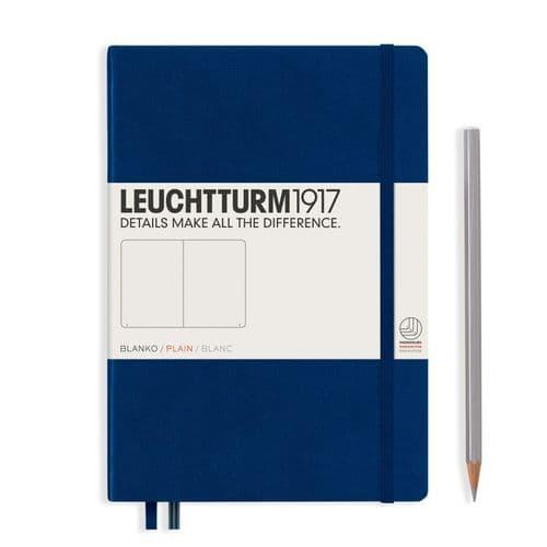 Leuchtturm 1917 - Notebook Medium (A5) - Hardcover - Navy
