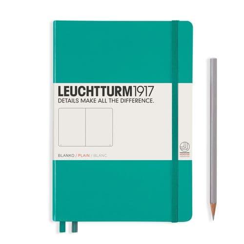 Leuchtturm 1917 - Notebook Medium (A5) - Hardcover - Emerald Green