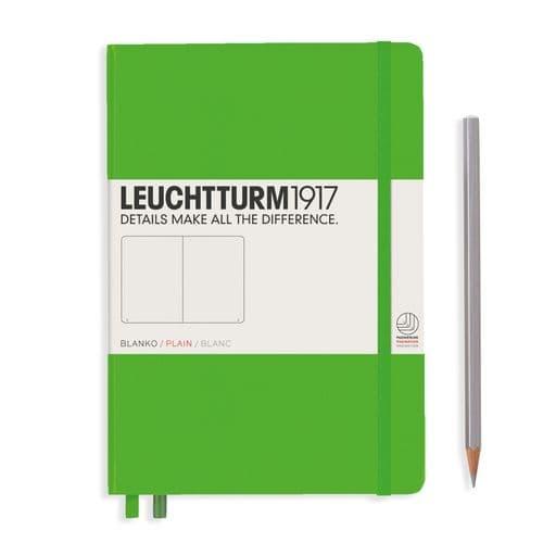Leuchtturm 1917 - Notebook Medium (A5) - Hardcover - Fresh Green