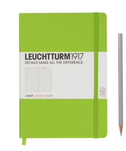 Leuchtturm 1917 - Notebook Medium (A5) - Hardcover - Lime