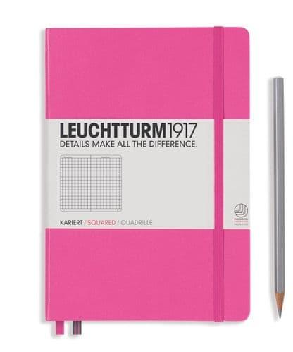 Leuchtturm 1917 - Notebook Medium (A5) - Hardcover - New Pink