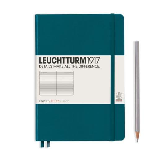 Leuchtturm 1917 - Notebook Medium (A5) - Hardcover - Pacific Green