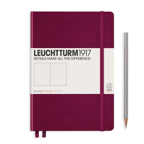 Leuchtturm 1917 - Notebook Medium (A5) - Hardcover - Port Red