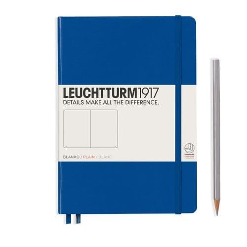 Leuchtturm 1917 - Notebook Medium (A5) - Hardcover - Royal Blue
