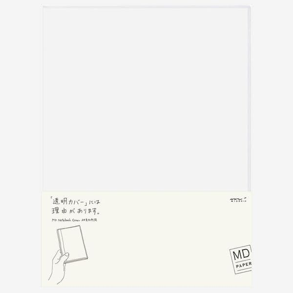 MD - Notebook Cover - Clear - A4 Variant