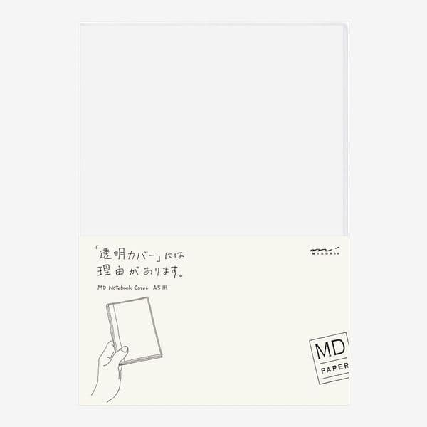 MD - Notebook Cover - Clear - A5