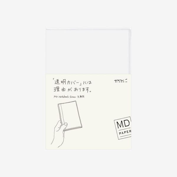 MD - Notebook Cover - Clear - A6