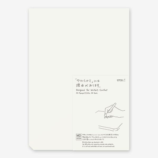 MD - Paper Pad A4 - Blank Cotton