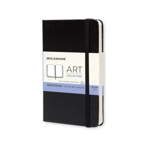 Moleskine - Art Collection - Pocket Hardcover - Black