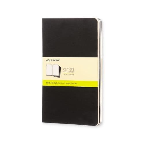Moleskine - Cahier - Large - Black (plain)