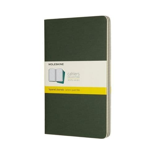 Moleskine - Cahier - Large - Myrtle Green (ruled)