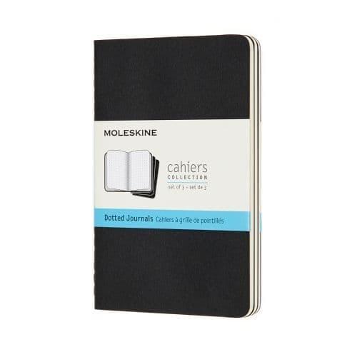 Moleskine - Cahier - Pocket - Black (dotted)