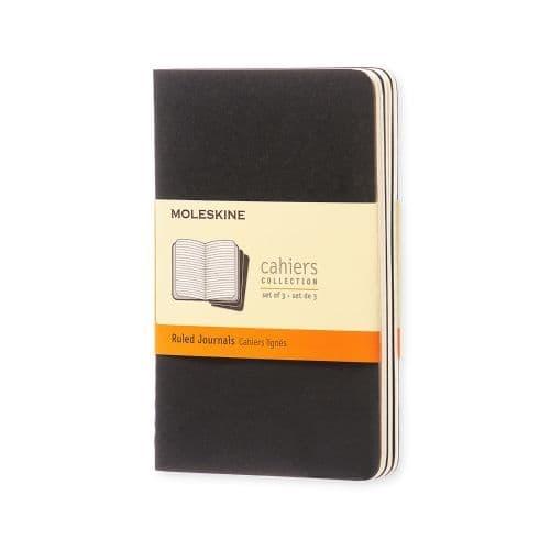Moleskine - Cahier - Pocket - Black (ruled)