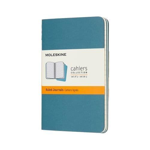 Moleskine - Cahier - Pocket - Brisk Blue (ruled)