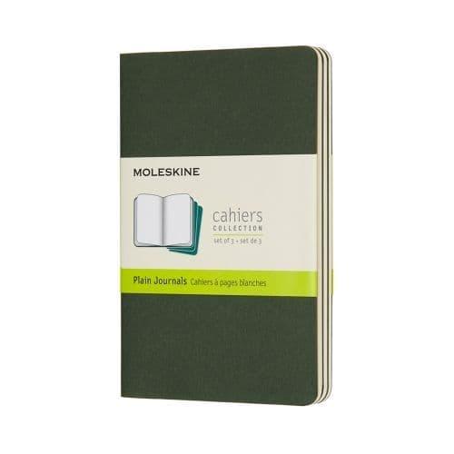 Moleskine - Cahier - Pocket - Myrtle Green (plain)