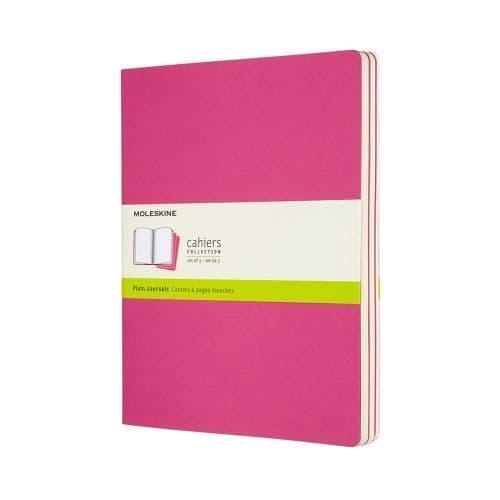 Moleskine - Cahier - X-Large - Kinetic Pink (plain)