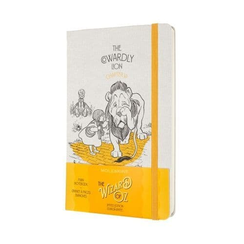 Moleskine - Wizard of Oz - Limited Edition Notebook - The Cowardly Lion