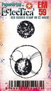PaperArtsy - Rubber Stamps - E³ Tracy Scott Mini #59