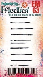 PaperArtsy - Rubber Stamps - E³ Tracy Scott Mini #63