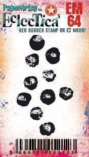 PaperArtsy - Rubber Stamps - E³ Tracy Scott Mini #64