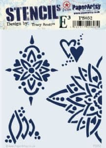 PaperArtsy - Stencil -Tracy Scott 052
