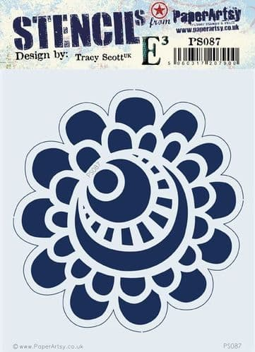 PaperArtsy - Stencil -Tracy Scott 087