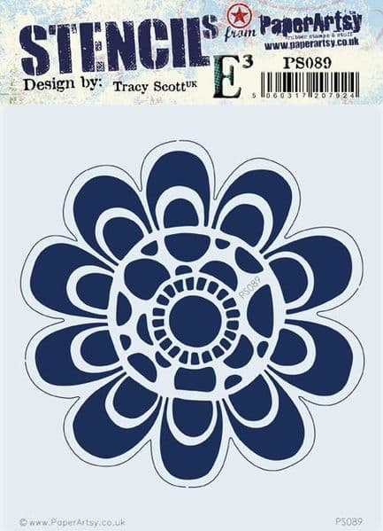 PaperArtsy - Stencil -Tracy Scott 089