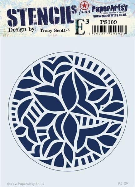 PaperArtsy - Stencil -Tracy Scott #109