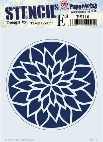 PaperArtsy - Stencil -Tracy Scott #110