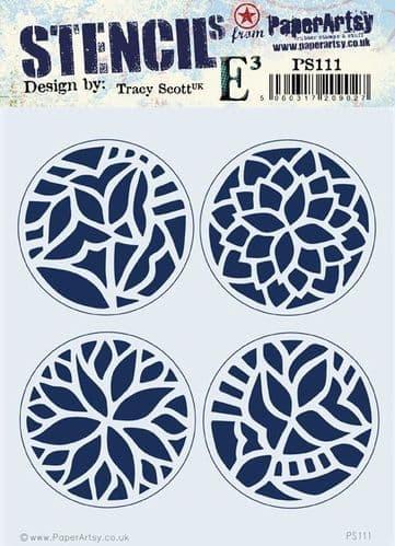 PaperArtsy - Stencil -Tracy Scott #111